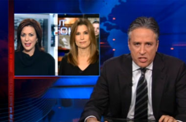 Jon Stewart Wants Everyone To Cut Some Slack For Cyber Bully Willow Palin