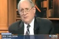 Sen. Carl Levin Basically Calls Obama A Pussy