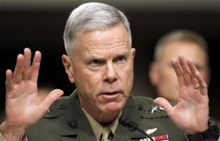 Marines Aren't Fleeing The Military Like Gen. James Amos Worried About, Says Gen. James Amos