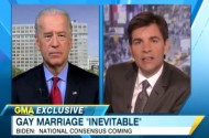 Joe Biden: Like Obama, America Is 'Evolving' On Gay Marriage. It's 'Inevitable'