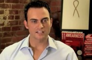 Why Cheyenne Jackson Is Doing More Than Wearing An AIDS Ribbon