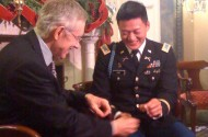 Harry Reid Gives Dan Choi His West Point Ring Back