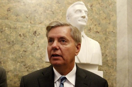 "Sen. Lindsey Graham's Tea Party Opponent Seems To Think He's A ""Nancy Boy"""