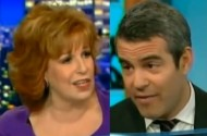 It's Andy Cohen vs. Carrie Fisher (And Joy Behar!) On The Outing Of John Travolta