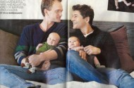 Neil Patrick Harris + David Burtka, Portrait Of Fathering Bliss
