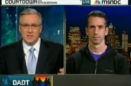 DADT Survey Gives Has MSNBC Going All Gay All The Time: Matthews, Maddow, Olbermann Dive In