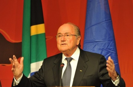 FIFA Chief Sepp Blatter Once Called For Gay Players To Come Out. So Now He's Sorry For Offending Them