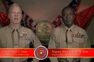 Gen. James Amos Welcomes Homos To the Marines