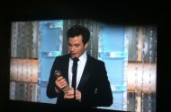 Golden Globes: 'Cinder-fella' Chris Colfer's Awesome Speech. Jim Parsons + Jane Win
