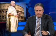 John McCain Becomes Jon Stewart's Punching Bag For The Evening. And Forever