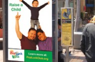 Homosexual Fathers Blanket Los Angeles Area With Parenting Propaganda