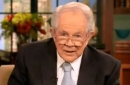 Pat Robertson Reads God's 2011 Housing Market Forecast, Verbatim