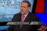 The Face Mike Huckabee Makes When You Force Him To Think About The Disgusting Sex You're Having