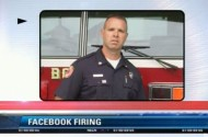Should Firefighter Be Fired For Saying Nasty Anti-Gay Things On Facebook About His Bosses?