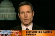 Christopher Barron Isn't Terribly Concerned About Being Banned From CPAC