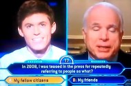 Watch: How John McCain Ruined Gay Who Wants To Be A Millionaire Contestant's Dreams Of Wealth