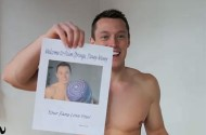 Davey Wavey Stalked At Palm Springs Clothing-Optional Hotel