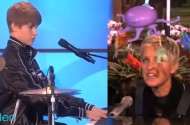 Lady Gaga Ensnares Ellen DeGeneres + Justin Bieber In Massive 'Born This Way' Hype Ploy