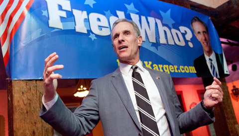 Fred Karger Locked out of Republican Presidential Debate, but Refuses to go Away