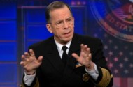 Adm. Mike Mullen Talks With His Hands (About Don't Ask Don't Tell)