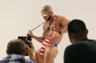 François Sagat Is Terry Richardson's All American Hero