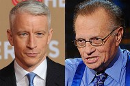 Larry King Calls Anderson Cooper A 'She,' And Donald Trump Gets John Travolta'd