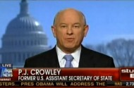P.J. Crowley Defends His Defense Of Bradley Manning, Who Pulled A Knife On His Stepmom