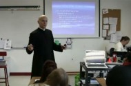 Watch Father John Hollowell Teach Catholic Students About Disgusting Gay Sex For 2 Hours