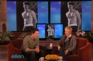 Ellen DeGeneres Is Using Rosie's Old 'Ogle The Straight Guy' Gimmicks