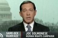 Is Joe Solmonese Worried About John Boehner Defending DOMA?