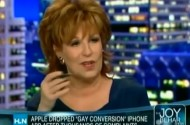 There Are Some Gay Issues Joy Behar Should Just Leave Alone, Like Technology