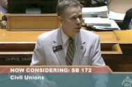 CO State Sen. Kevin Lundberg Pulls The Old 'Civil Unions Ruined France' Argument