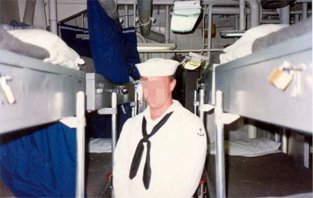 Navy Petty Officer Stephen C. Jones Won't Be Ousted For Falling Asleep In Bed With Another Man