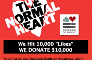 The Normal Heart's Shlocky Facebook Campaign To Generate Buzz With $10k Donation Stunt