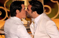 ABC Couldn't Handle The Oscar Night Kiss Between Javier Bardem And Josh Brolin