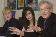 Sir Ian McKellen's School Tour Teaches Kids Not To Be Scared Of The Gay