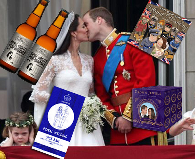 Buy These 3 Sexual Royal Wedding Souvenir