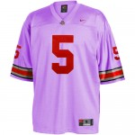 Ohio State Football Coach Penalizes Poorly Performing Players By Making Them Wear Lavender Jersey