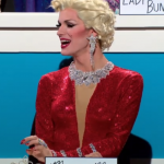 Snatch Game Ivy Winters as Marilyn Monroe