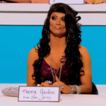 Snatch Game Joslyn Fox as Theresa Guidice