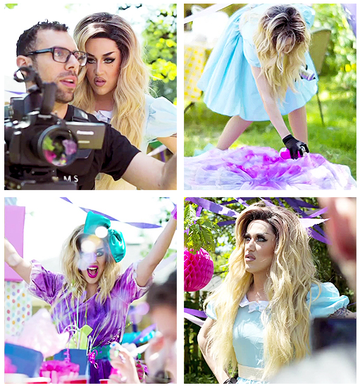 Behind the scene Adore Delano Music Video Party