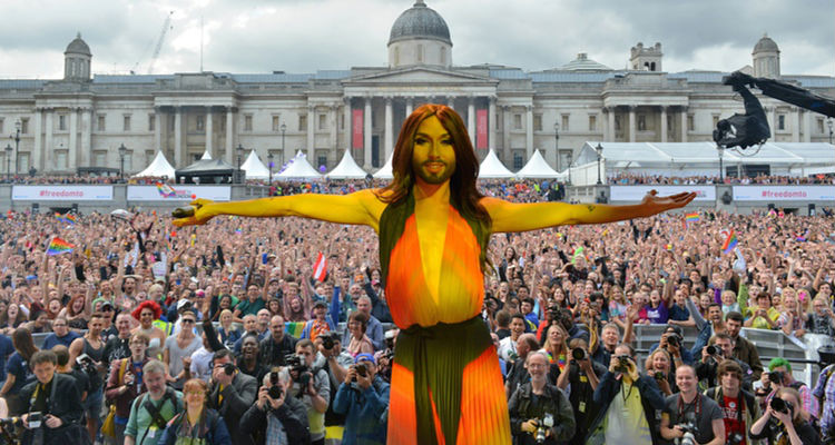 Watch: Conchita Wurst Performs to Huge Crowd at London Pride