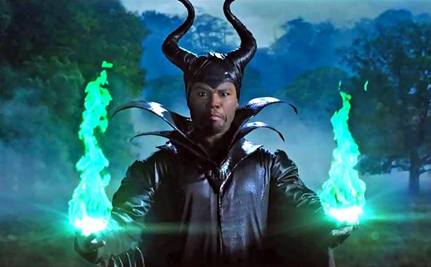 50 Cent Drags Up in 'Maleficent' Parody: 'MaleFiftyCent'