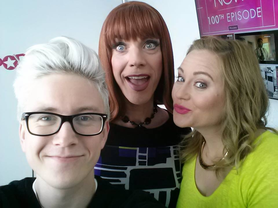 Guess the Celeb in Drag with Coco Peru, Tyler Oakley and Becca Frucht
