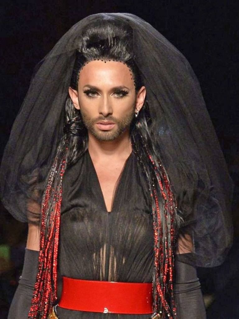 Jean Paul Gaultier autumn:winter 2015 Conchita Wurst 02