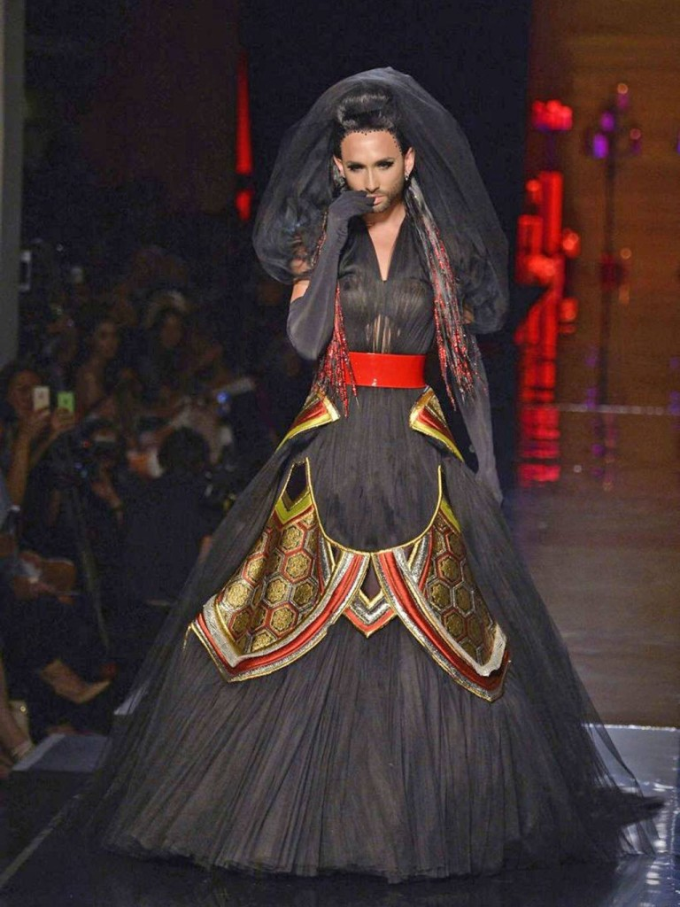 Jean Paul Gaultier autumn:winter 2015 Conchita Wurst 03