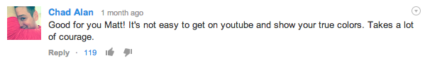 Teenage drag queen youtube comments 01