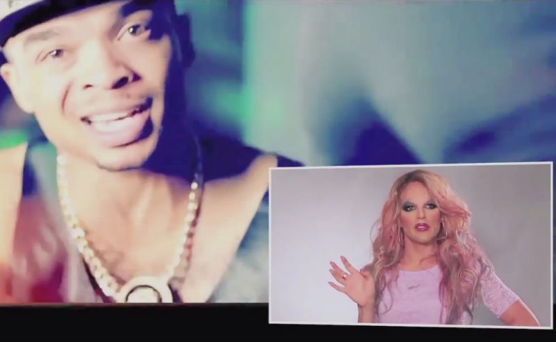 Watch: Willam Beats Down 'Throw That Boy Pussy' (NSFW)
