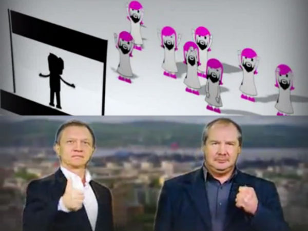 This Anti-Gay Russian Political Ad is Blunt and Disgraceful, Mocks Conchita Wurst