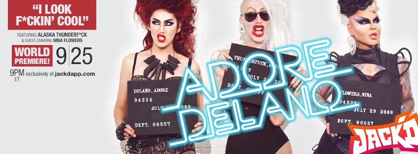 OMG! The Preview for Adore Delano's 'I Look Fucking Cool' is Finally Here!
